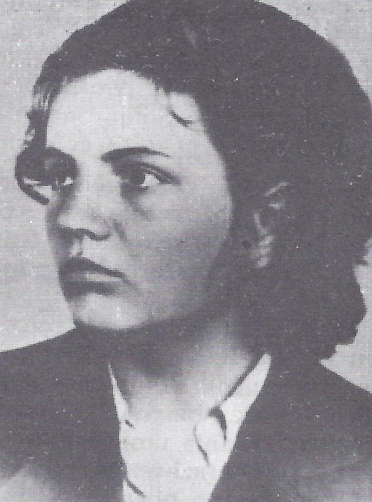 Nada Dimić, freedom fighter against Nazi occupation of Croatia.