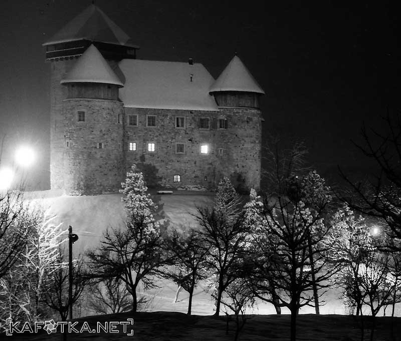 karlovac, croatia, travel, tourism, castle, fortress, dubovac, church, winter, river