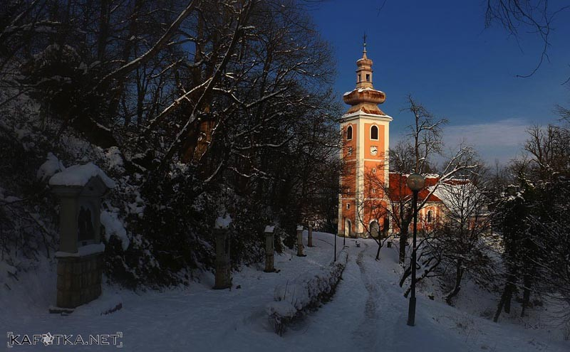 karlovac, croatia, travel, tourism, castle, fortress, dubovac, church, winter, river