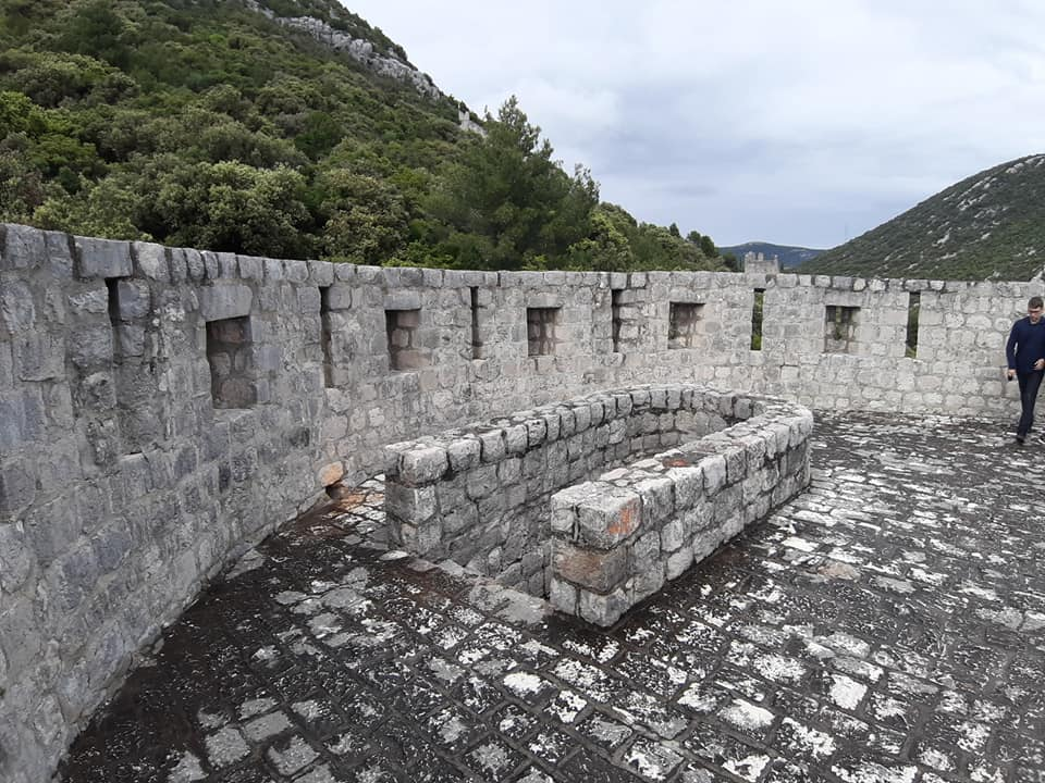 ston, wall, dubrovnik, croatia, travel. tourism, second longest wall in the world, adriatic, mediterranean