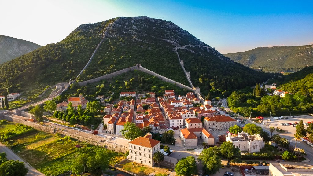 ston, dubrovnik, wall, second longest wall in the world, croatia, travel, tourism, adriatic, mediterranean, fortifications