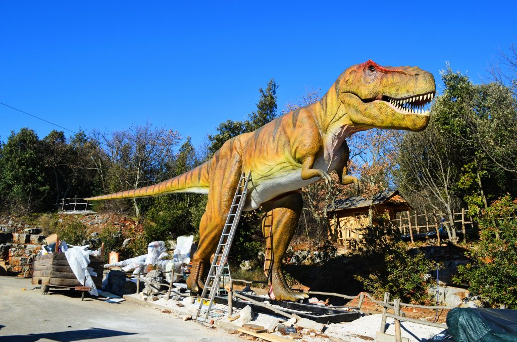croatia, travel, discover, tourism, istria, dinosaurs, funtana, park