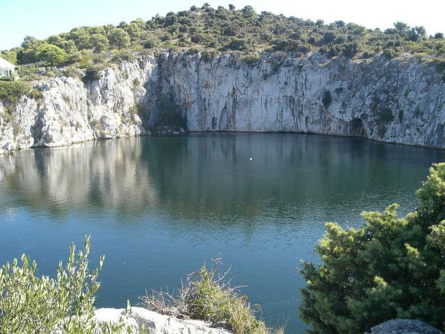 croatia, travel, discover, tourism, adriatic, rogoznica, lake, dragon