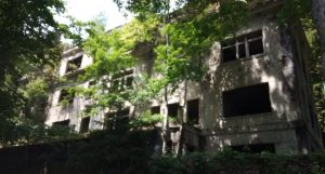 Brestovac sanatorium on Medvednica mountain near Zagreb, Croatia.