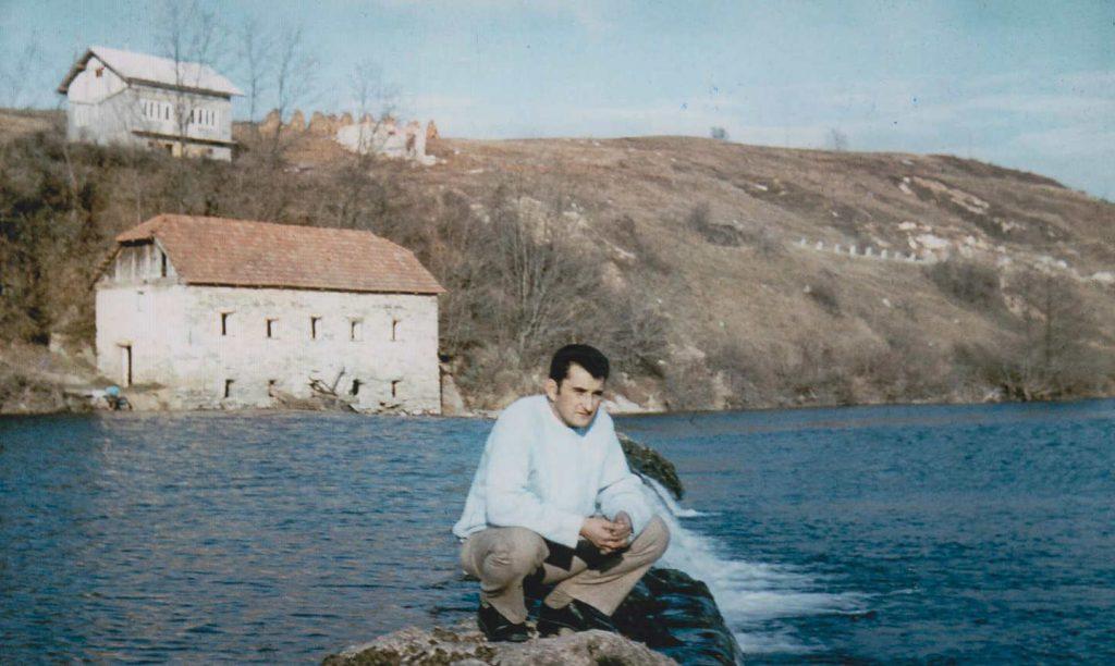 Bloody mill on river Dobra in Karlovac, Croatia