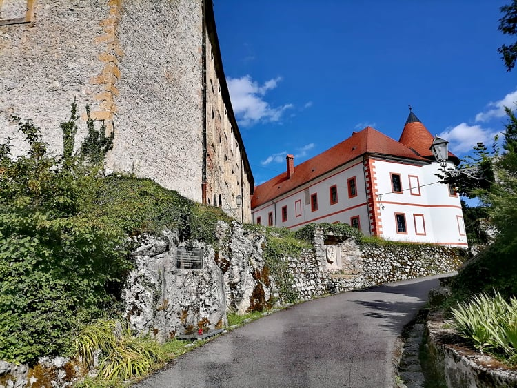 Ozalj castle in Croatia