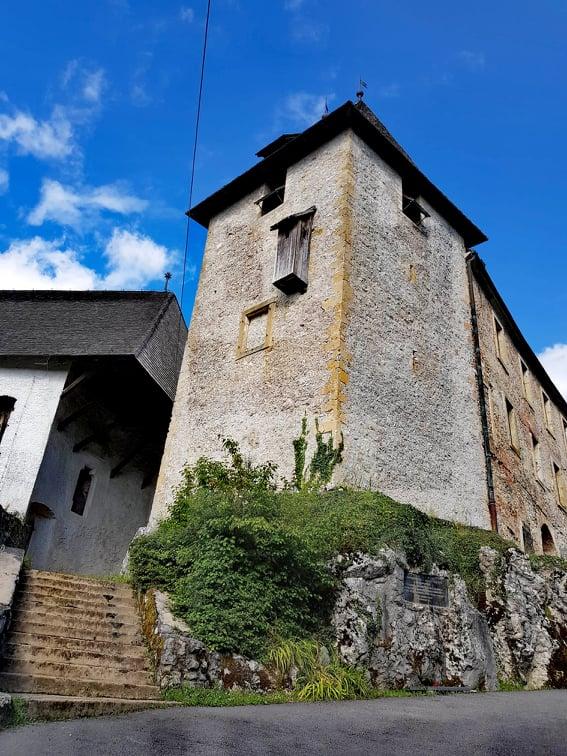 Ozalj castle in Croatia