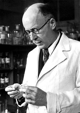 Lavoslav Ružička, nobel prize laureate from Vukovar, Croatia