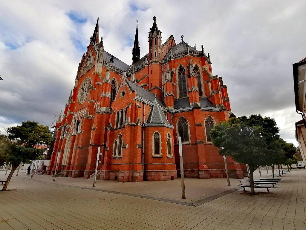 Cathedral in Osijek, Croatia