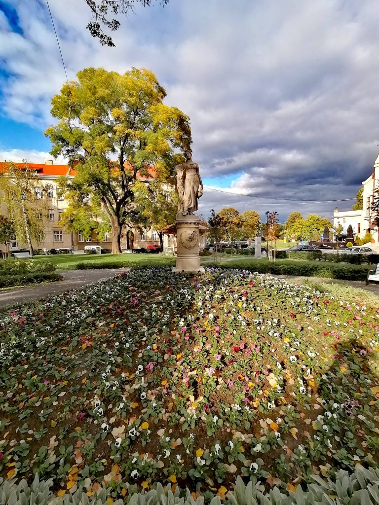 Sakuntala park in Osijek, Croatia