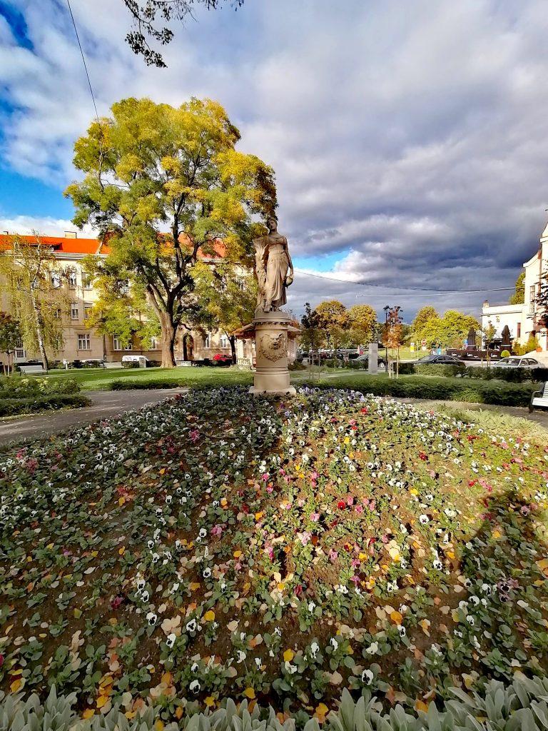 Sakuntala park Osijek, Croatia