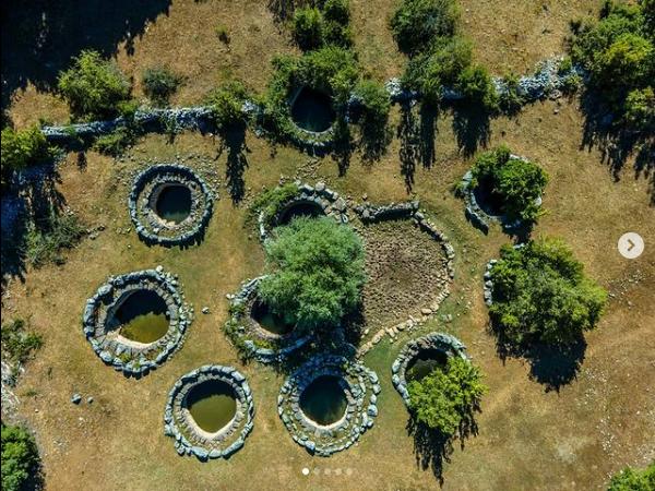 Roman wells in Rajčica, Croatia