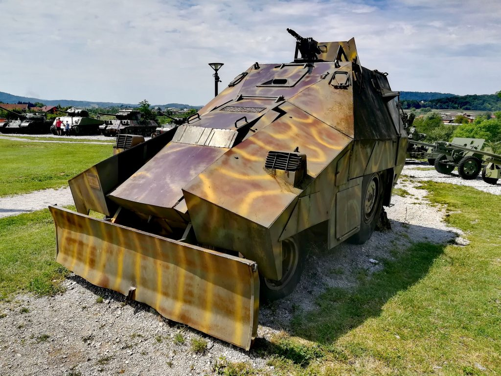 Museum of war for independence, Karlovac, Croatia