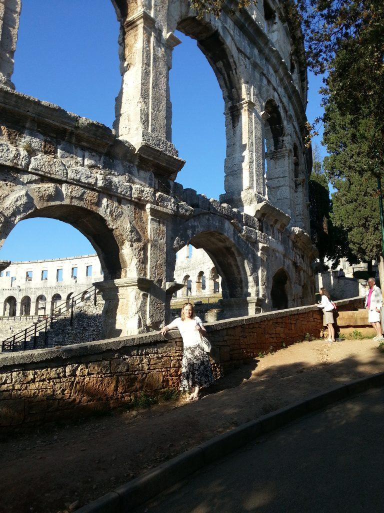 Roman anphitheater in Pula, Croatia